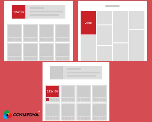 Pinterest görsel paylaşım boyutları